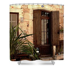 Doorway At Number 12 Shower Curtain