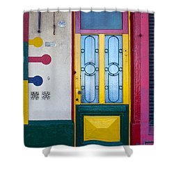 Doors Of San Telmo, Argentina Shower Curtain