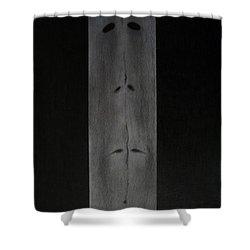 Doppelganger Shower Curtain