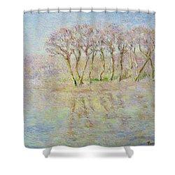 Dordogne, Beynac Et Cazenac Shower Curtain by Pierre Van Dijk