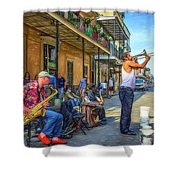 Doreen's Jazz New Orleans - Paint Shower Curtain