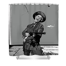 Doris Day Calamity Jane 1953 Color Added 2016 Shower Curtain