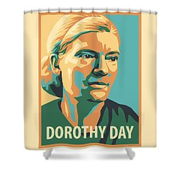 Dorothy Day, 1938 - Jldyd Shower Curtain