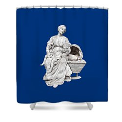 Dors, Min P'tit Quinquin Shower Curtain by Marc Philippe Joly