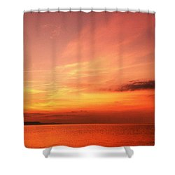 Shower Curtain featuring the photograph Dorset Delight by Baggieoldboy
