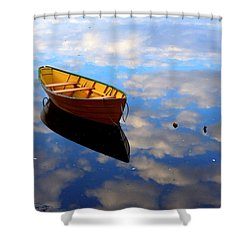 Dory In The Clouds Shower Curtain