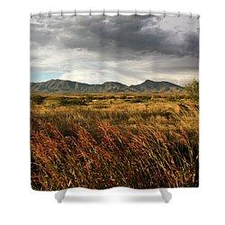 Dos Cabezas Grasslands Shower Curtain