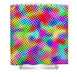 Dotty Shower Curtain