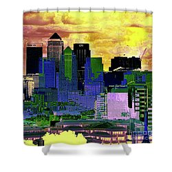 Shower Curtain featuring the photograph Double Accounting by LemonArt Photography