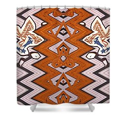 Double Closed Doors Abstract Shower Curtain  sc 1 st  Fine Art America & Guitar Pick Shower Curtains (Page #4 of 9) | Fine Art America