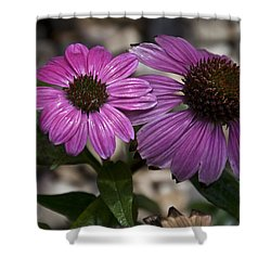 Shower Curtain featuring the photograph Double Delight by Deborah Klubertanz