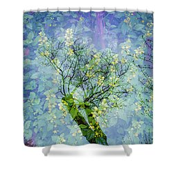 Close Encounters-3 Shower Curtain