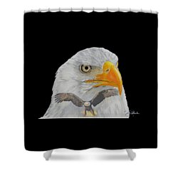 Double Eagle Shower Curtain by Bill Richards