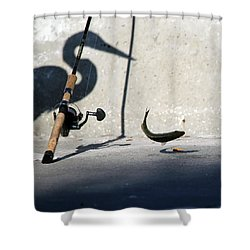 Double Jeapardy Shower Curtain by Lamarre Labadie