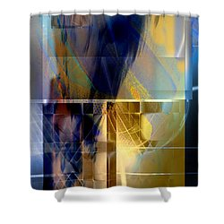 Double Structure Shower Curtain