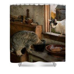 Shower Curtain featuring the photograph Double Trouble by Robin-Lee Vieira