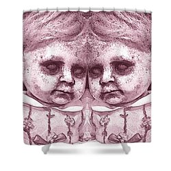 Double Trouble Two Shower Curtain