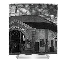 Doubleday Field Park Shower Curtain