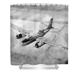 Douglas A-26 Invader Shower Curtain
