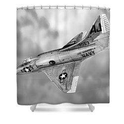 Douglas A-4c Skyhawk Shower Curtain by Douglas Castleman