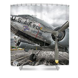 Douglas C-47 Skytrain Shower Curtain
