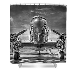 Douglas Dc3 Shower Curtain