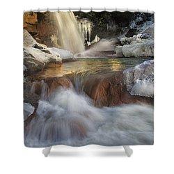 Douglas Falls Flow Shower Curtain