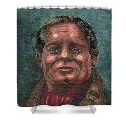 Douglass Bader Shower Curtain
