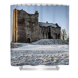 Doune Castle In Central Scotland Shower Curtain