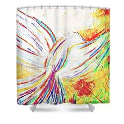 Holy Spirit Shower Curtain
