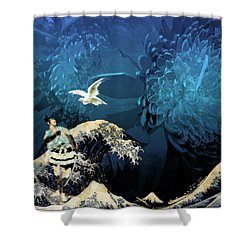 Dove Vision Shower Curtain