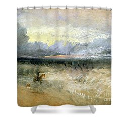Dover  Shower Curtain by Joseph Mallord William Turner