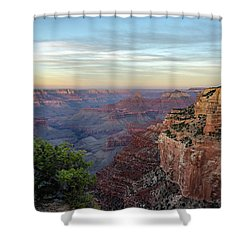 Down Canyon Shower Curtain