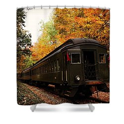 Down In Essex Ct To Get A Little Fall Shower Curtain