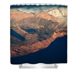 Down Into The Valley Shower Curtain