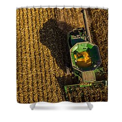 Down On The Combine Shower Curtain