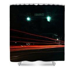 Down South Street Shower Curtain