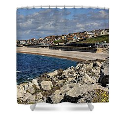 Down The Cove Shower Curtain