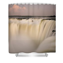 Down The Hatch Shower Curtain