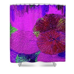 Downpour 4 Shower Curtain by Bruce Iorio
