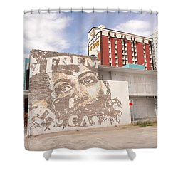 Downtown After Shower Curtain