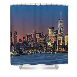 Downtown And Freedom Tower Shower Curtain