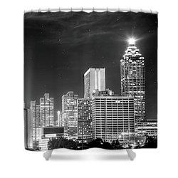 Downtown Atlanta Skyline Shower Curtain