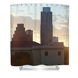 Downtown Austin Shower Curtain