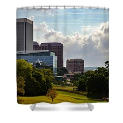 Downtown Beauty Shower Curtain