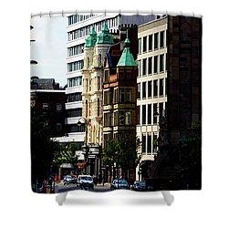 Downtown Belfast Shower Curtain