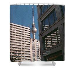 Downtown Berlin Shower Curtain