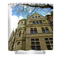 Downtown Dublin 3 Shower Curtain