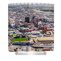 Downtown El Paso Shower Curtain