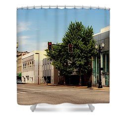 Downtown Huntington West Virginia Shower Curtain by L O C